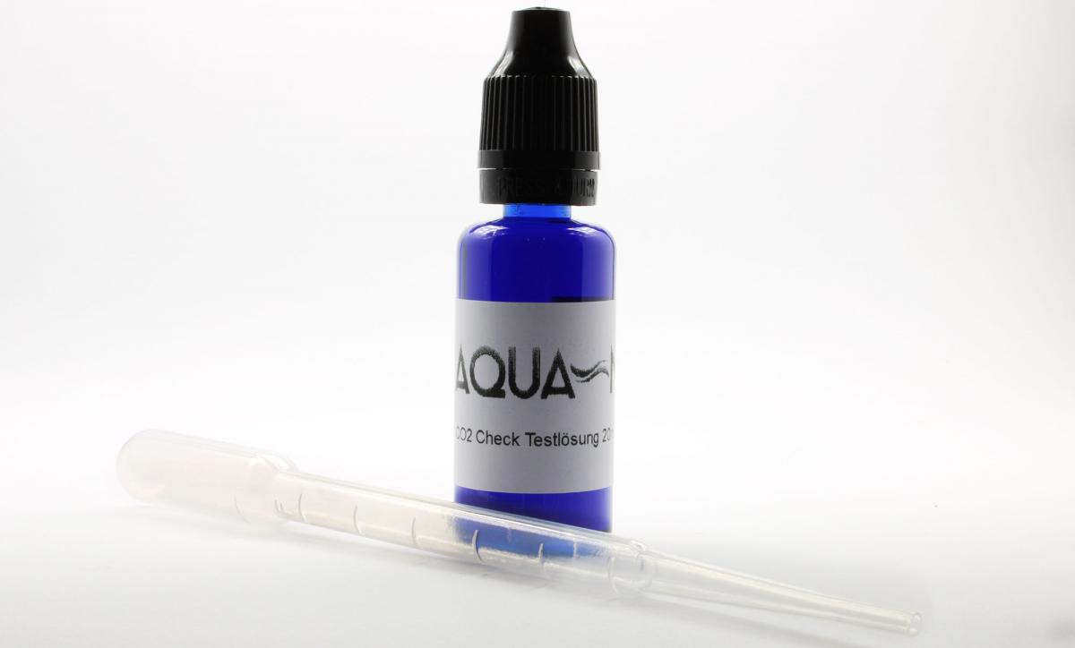 CO2 test solution 20ml (20mg / l) for long-term test including pipette